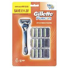Gillette Fusion Herren Rasierklinge + 10 Rasierer 5-precision Klingen Bundle Kit