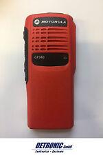 Motorola GP340 Frontgehäuse rot mit allen Anbauteilen - Frontcover GP340 red