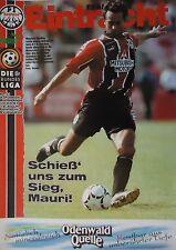 Programm 1996/97 SG Eintracht Frankfurt - Waldhof Mannheim
