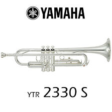 Yamaha YTR-2330S Student Trumpet | Silver Plated | Free Shipping