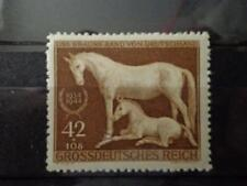 GERMAN WW2 3 RD REICH 1944 HORSE RIDING BRAUNES BAND  PROPAGANDA STAMP MNH