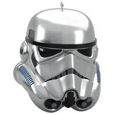 Hallmark 2017 Silver Imperial Stormtrooper Mystery Box  Star Wars Ornament