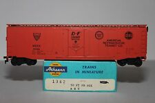 HO Scale Athearn 1362 American Refrigerator Co. N & W 50' Plug Door Reefer 2345