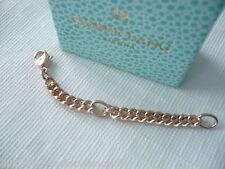 >Pierre Lang* Verlängerunskette, Verlängerung für Halsketten roségold 4 mm/8 cm