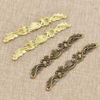 20 pcs Antique Bronze Filigree Flower Wraps Connectors Copper DIY Embellishments