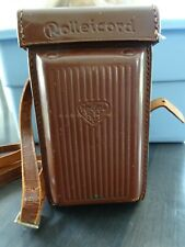 Vintage Rolleicord Camera Including Case #1329331 Compur Rapid, Germany