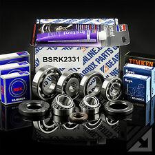 Suzuki Ignis 1.3 inj 5 speed manual gearbox bearing oil seal rebuild repair kit