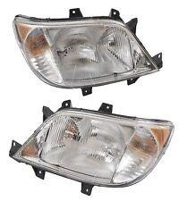 For Dodge Sprinter 2500 3500 03-06 Left & Right Headlight Assemblies Hella
