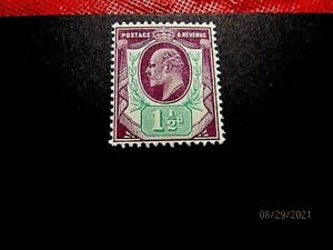 GB #129 11/2p mint vf og h, cv 45.-