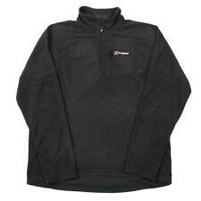 BERGHAUS Quarter-Zip Fleece Pullover   Men's L   Sweatshirt Jumper 1/4
