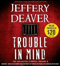 JEFFERY DEAVER-Trouble in Mind : The Collected Stories, NEW 14 CDs (2014)