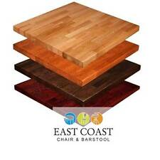 """New 30"""" x 42"""" Amish-Made Solid Wood Red Oak Butcher Block Table Top"""