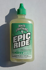 WHITE LIGHTNING Epic Ride Light Lube - Bike Bicycle Cycle BMX Lubricant 4oz NEW!