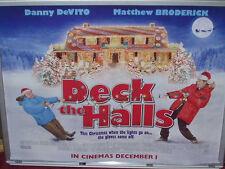 Cinema Poster: DECK THE HALLS 2006 (Quad) Danny DeVito