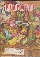 Children's Playmate Magazine Elf resting cover  December 1979