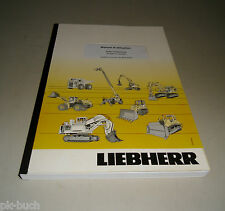 Manual D' Use Liebherr R 900 C-Litronic Skin Hydraulique Stand 2008