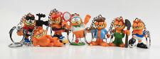Garfield === 7 x familia Garfield mini figuras en miniatura llavero