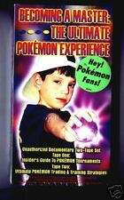 Original  Pokemon 2 vhs tape set, Becoming A Master, NEW in box