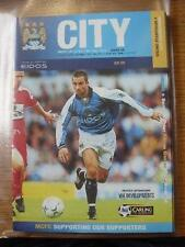 30/09/2000 Manchester City v Newcastle United