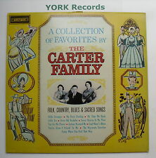 CARTER FAMILY - A Collection Of Favorites - Ex Con LP Record Stetson HAT 3022