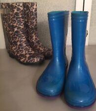 Girl��s 1 Kamik Blue Rain Boots