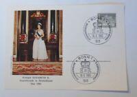 Special Cards Queen Elisabeth Ii.staatsbesuch IN Germany Bonn 1985 (75136)
