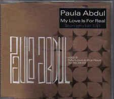Paula Abdul-My Love Is For Real Promo cd single