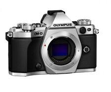 Olympus OM-D E-M5 Mark II Mirrorless Camera Body Only Silver - Open Box Demo
