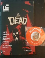 #LOOTCRATE EXCLUSIVE February 2016 DEAD Loot Pin by Loot Crate Labs & Magazine