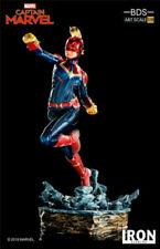 Iron Studios 1/10 Scale Captain Marvel Carol Danvers Figure Statue Model Toys