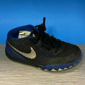Nike Kyrie 1 TD Toddler Shoes Blue Duke Brotherhood 717223 400 Size 10c
