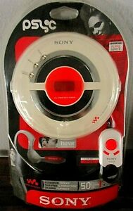 NEW Sony D-EJ100 Walkman Mega Bass Portable CD Player with Remote