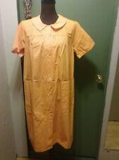 L  K! A Vintage JC Penney s Orange Misses Robe Housecoat 9765aadb8