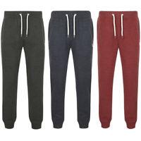 Tokyo Laundry Mens Plain Cuffed Joggers Jogging Bottoms Tracksuit Pants Trousers