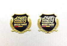 Side Badge Gold Colour Metal Emblem Mugen Power
