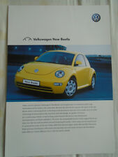 VW Beetle brochure Jan 2001 Australian market