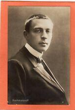 More details for sergei rachmaninoff russian pianist composer rp pc  breitkopf & hartel aj688