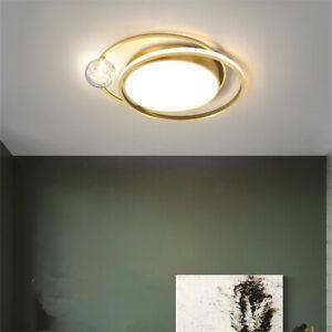 Gold Kitchen Chandelier Light Bedroom Led Pendant Lighting Office Ceiling Lights