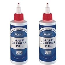 2 X Genuine 3310 Wahl Clipper Oil 118ml 4fl/oz for Long Lasting Hair Clippers