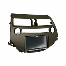 2008-12 Honda Accord Single / Double DIN Earth Taupe Stereo Dash Kit with Pocket