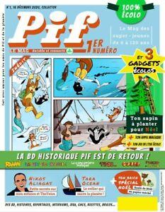 PIF GADGET - Le Mag Magazine Écolo - N°1 - 16 décembre 2020 - Neuf !!!!