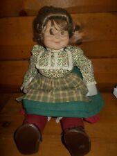 "Grannyworld Irish Grandmother Doll with dimples ""21� New no box Senior Citizen"