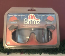 Spartans Flip Up Sunglasses Brimz Clip On Sports Eyewear Michigan State Nip