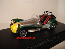NOREV CATERHAM SUPER SEVEN ALUMINIUM YELLOW & GREEN 1983 au 1/43°