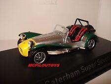 Norev Caterham Super Seven Aluminium Yellow & Green 1983 to the / Of 1 /43°