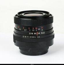 Lens  Zeiss Jena  Flektogon 2,4/35mm  Macro  TM42 Mint