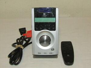 Logitech Z-5500 THX 5.1 Speaker System Control Pod Center with Remote
