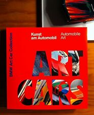 BMW ART CARS BOOK KUNST AM AUTOMOBIL (NO MINICHAMPS)  NEW NEW NEW VERY RARE!!