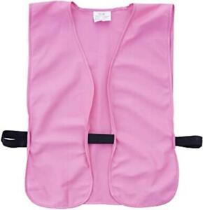 """Allen Pink Adult Hunting Safety Vest Elk Deer Birds 38"""" - 48"""" Chest 15757"""