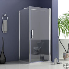 700x900mm Frameless pivot shower door enclosure walk in glass and side panel